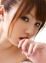 Tsubasa Amami Shows Natural Tits