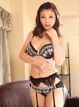 Minako Uchida with big boobs looks incredible