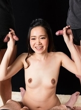 Nao Isaka Lathers Cock with Thick Cum