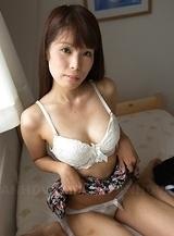 Haruka Nakamura shows hot boobies and hairy